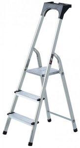 Brennenstuhl Aluminium Huishoudladder 3 treden - 1401230