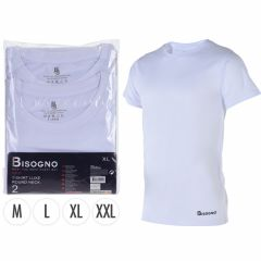 T-shirts-Bisogno-katoen-wit-set