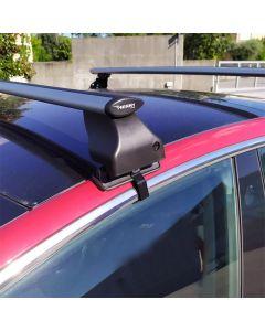Dakdragerset Twinny Load Aluminium Fly Bar F02 voor Tesla Model 3