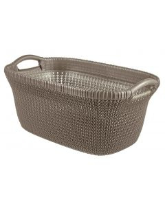 Curver knit wasmand bruin - 40L