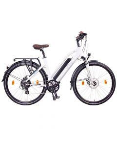 NCM Elektrische Trekking bike Milano+ 28'' Wit