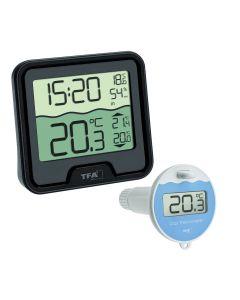 Zwembad & Vijver Thermometer TFA Dostmann MARBELLA