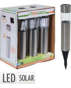 Solar RVS-Tuinverlichting - 6 stuks