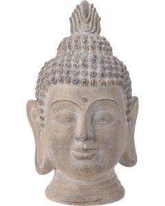 Boeddha hoofd middel beige