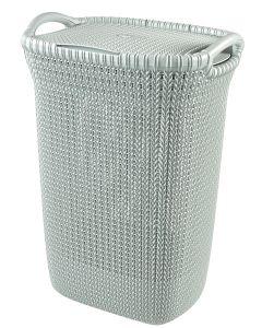Curver knit wasbox blauw - 57L