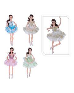 Pop 30cm buigbaar met jurk