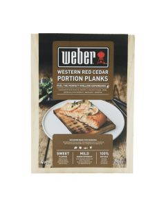 Weber Cederhouten portie rookplanken