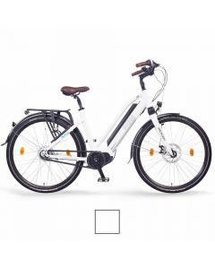 """NCM Elektrische Trekking bike Milano 28"""" Max 48V wit"""