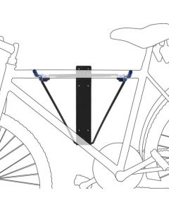 Opklapbaar fietsophangsysteem