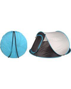 Pop-up Tent 240x210x105 cm - Grijs/Blauw