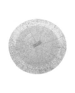 Placemat zilver 30 cm
