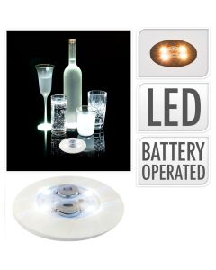 Witte LED stickers - 2 stuks