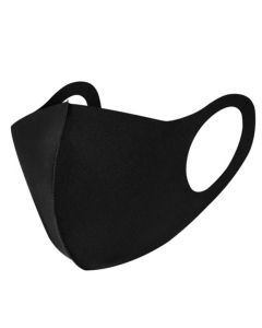 Mondmasker Basic Wasbaar Zwart