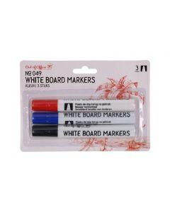 Whiteboard markers 3 kleuren