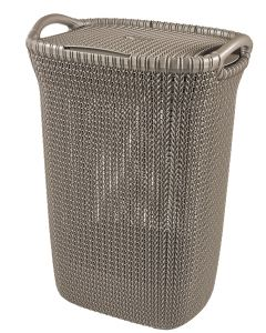 Curver knit wasbox bruin - 57L