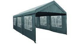 Partytent-3x6-meter-deluxe-grijs-met-zijwanden-Pure-Garden-&-Living