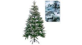 Kerstboom met sneeuw 150cm