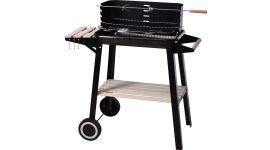 Houtskool barbecue rechthoek - 54x34x6,5 cm