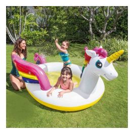 Intex mystic unicorn spray pool kinder zwembad zwembad for Heuts zwembad