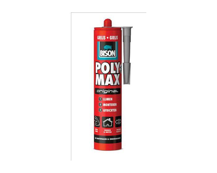 Bison Poly Max Original grijs 425gram