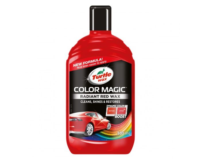 Turtle wax color magic rood