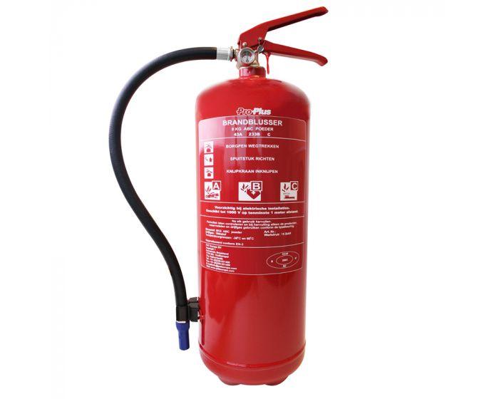Brandblusser ABC 9kg BB9NL