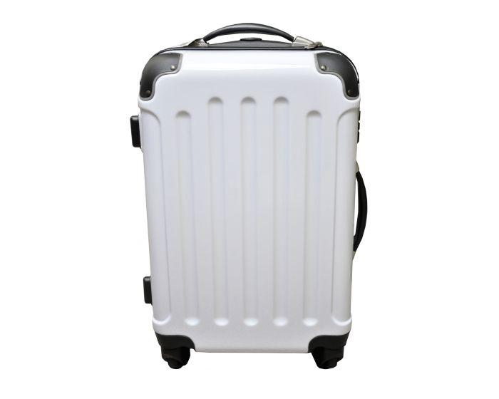 Koffer hoogglans wit 40 liter