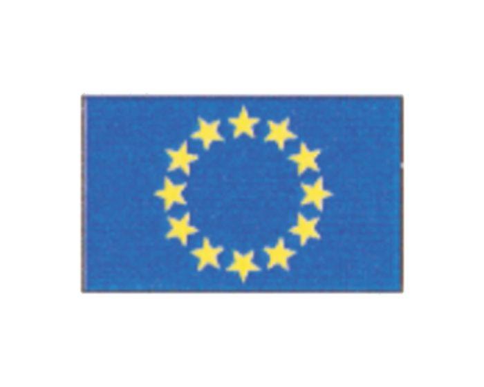 Vlag europa sticker