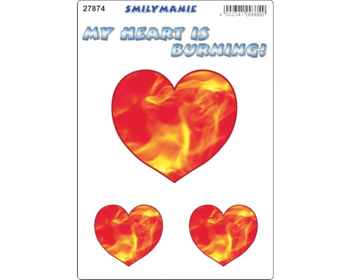 Smily my heart sticker