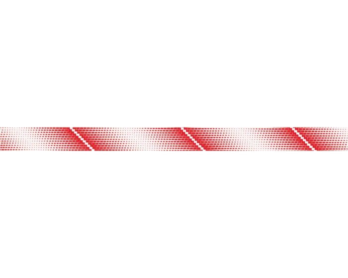 Sierstriping rood sticker