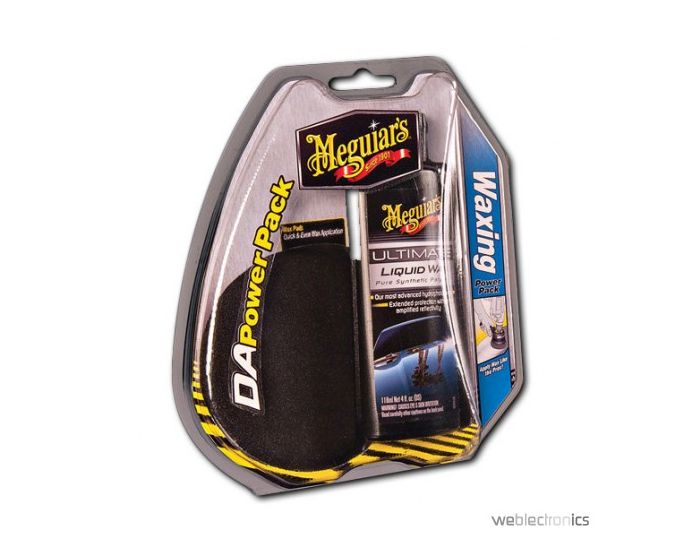 Meguiars Dual Action Waxing Power Pack & Pad G3503