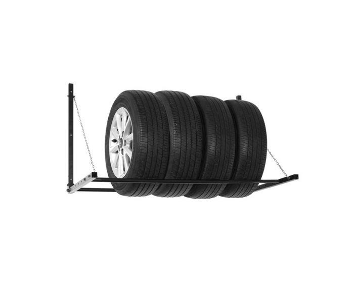 Vouwbaar bandenrek 86x73x71cm (LxBxH)