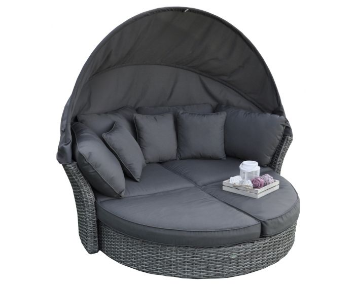 Lounge eiland & loungebed