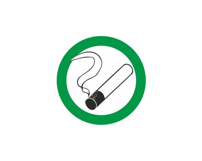 Roken toegestaan sticker