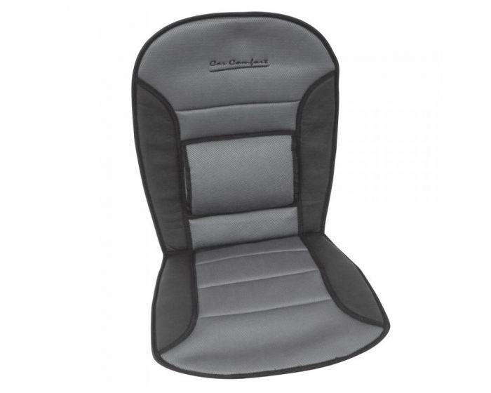 Stoelkussen comfort zwart/grijs