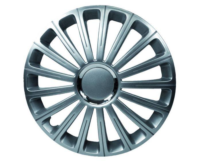Radical Silver Chrome - 14 inch wieldoppen