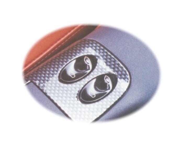 Carbon 310x465mm sticker