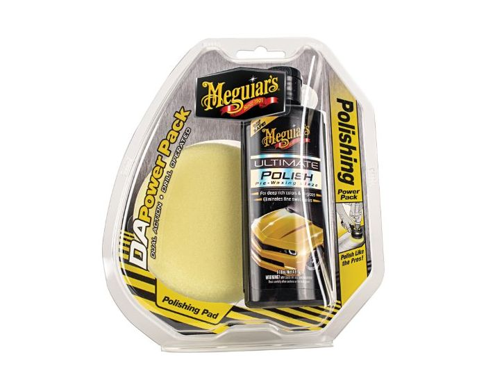 Meguiars Dual Action Polishing Power Pack & Pads G3502