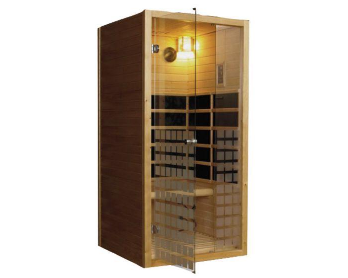 1-persoons Carbon Infrarood Sauna js-6101