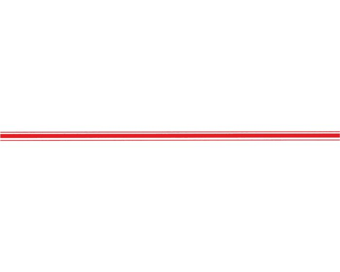 rally striping neon rood sticker
