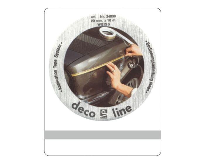 Bies zilver 5mm sticker