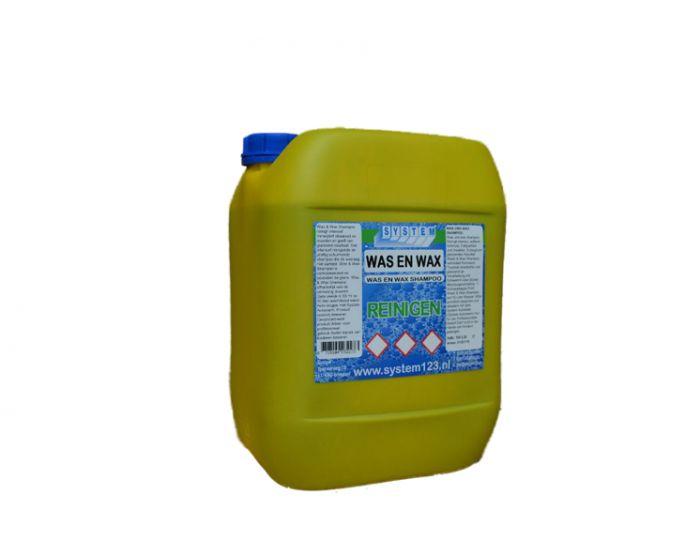 System was & wax shampoo  10 liter