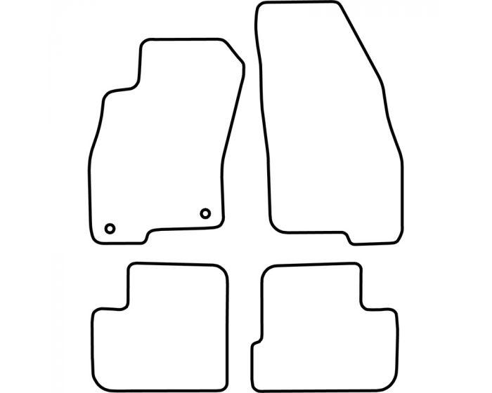 Automatten Fiat Grande Punto 2005-2011
