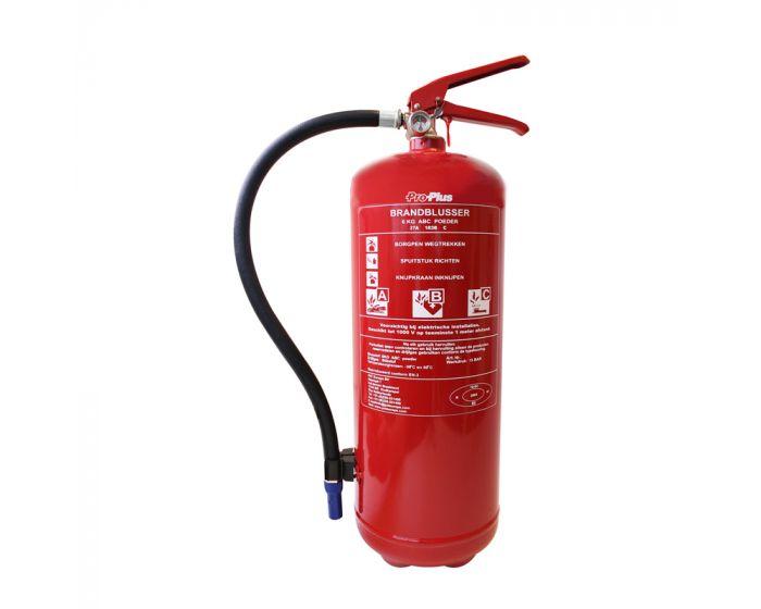 Brandblusser ABC 6 kg BB6NL