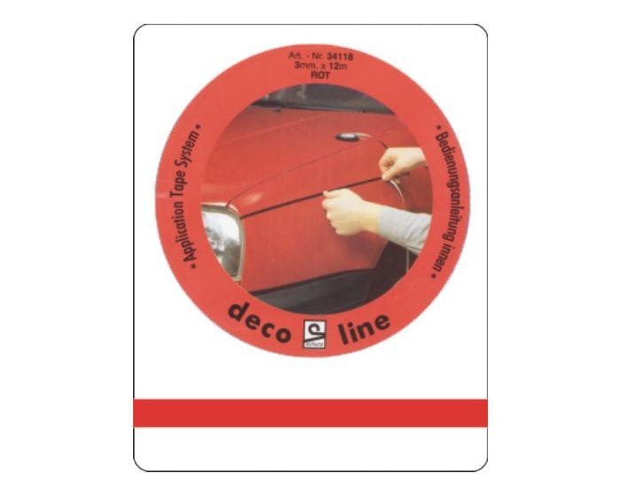 Bies rood 5mm sticker