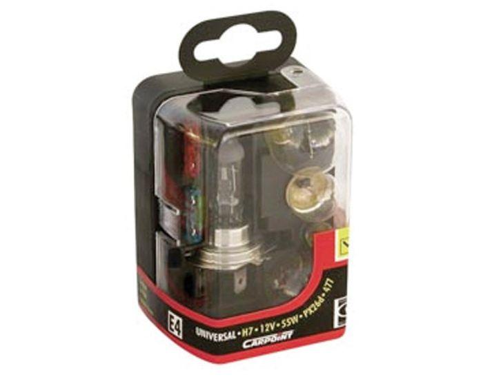 H7 55W 7-delig lampenset