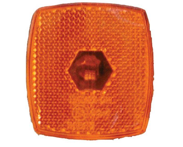 Breedtelicht oranje 66 x 62mm