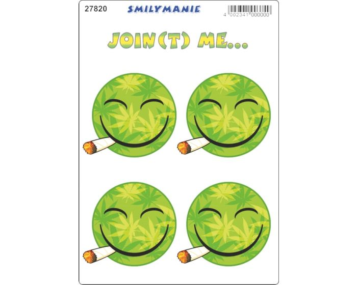 Smiley joint me... sticker