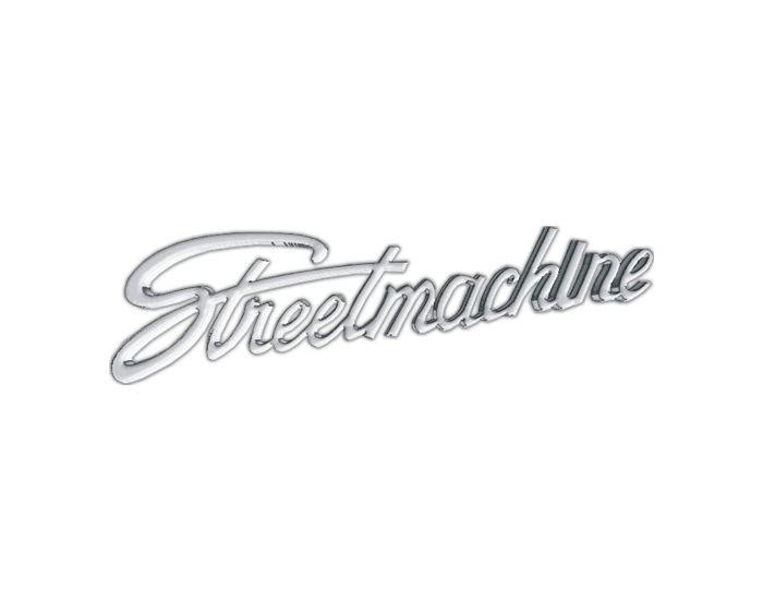 Chrome streetmachine sticker