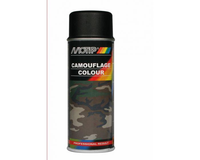 Motip camouflagelak 400ml ral 9021